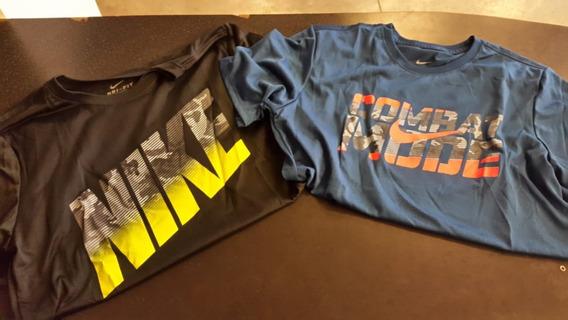 Remera Nike Dri Fit Manga Corta De Hombre