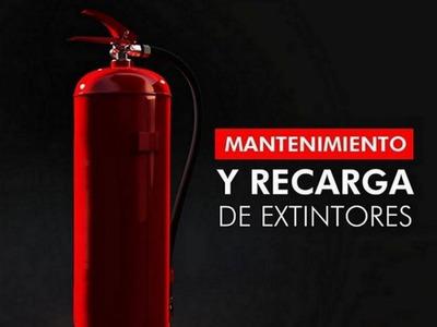 Recarga Y Mantenimiento A Extintores, Pqs, Co2, Afff, Hfc