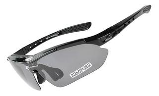 Óculos Esportivo Sol Bike Ciclismo Corrida Vôlei 5 Lentes