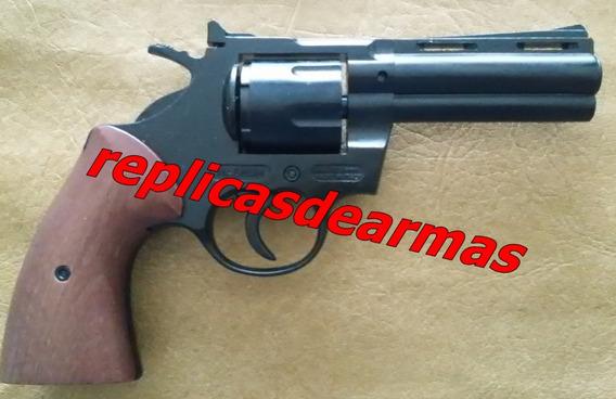 Revolver De Fogueo Colt Python 357 Mag. Cal .380