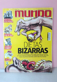 Revista Mundo Estranho N°110 Dietas Bizarras