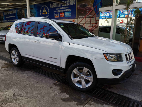 2015 Jeep Compass Latitude Aut 4x2 Blanco Brillante