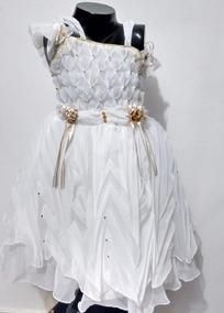 Vestidos De Bautizo Para Niña Talla 4 Nuevo