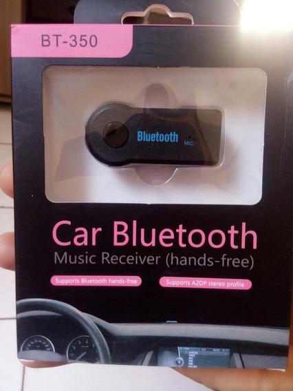 Adaptador Receptor Áudio Via Bluetooth Automotivo