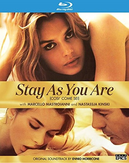 Blu-ray : Stay As You Are (widescreen, , Dolby)