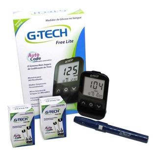 Glicosímetro G-tech Lite + 60 Fitas Frete Grátis