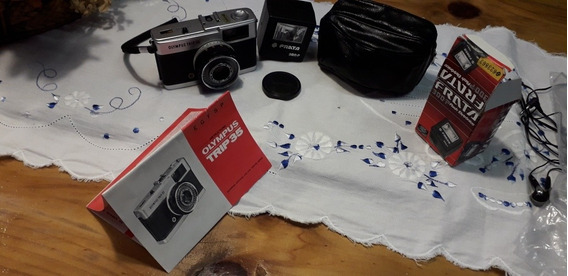 Câmera Fotográfica Antiga Olympus Trip 35