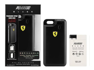 Capa iPhone 6/6s Perfume Scuderia Ferrari Black 2x 25ml Novo