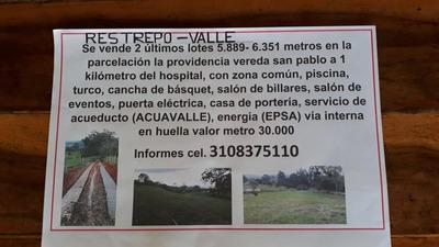 Lotes En Restrepo Valle