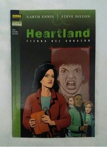 Heartland Tierra Del Corazon Comic Garth Ennis Steve Dillon
