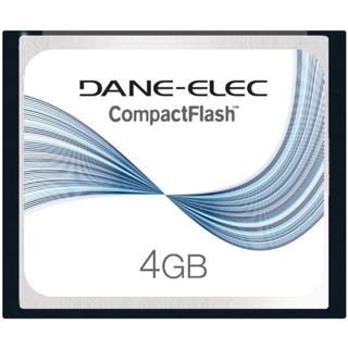 Dane-elec 4 Gb Compactflash Tarjeta De Memoria Da-cf-4096-r