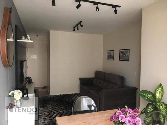 Apartamento 63 M² - 3 Dormitórios - 1 Suíte - Piraporinha - Diadema/sp - Ap0577