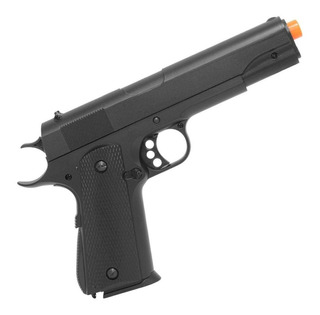 Pistola Airsoft Double Eagle Spring 1911 Full Metal M295