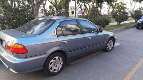 Honda Civic 2000 Por Viaje Urgente Escucho Propuestas