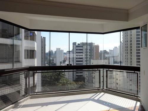 Encantador Apartamento Com Terraço Ampliado Para Sala E Com Ar Condicionado - Pp11565
