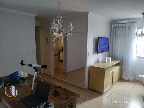 Imagem 1 de 14 de Apartamento 3 Dormitórios, Armários, 01 Vaga Coberta E Fixa - Jardim D Abril - São Paulo/sp - Ap2027