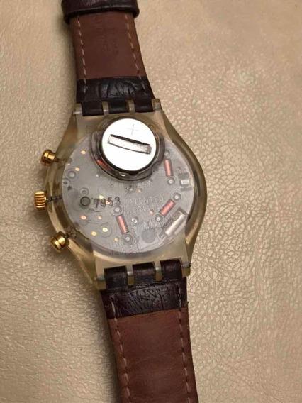 Relógio Vintage Swatch Chrono Croccante 1993 Sck401 Quartzo