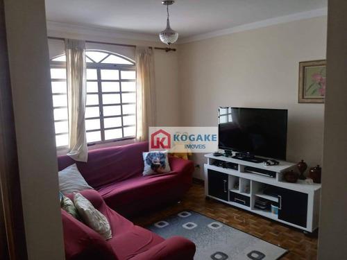 Casa Com 5 Dormitórios À Venda, 220 M² Por R$ 695.000,00 - Monte Castelo - São José Dos Campos/sp - Ca2786