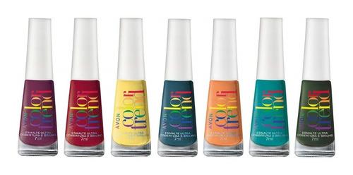 Imagem 1 de 1 de Avon Color Trend - Kit 7 Esmaltes - Coleção Pride