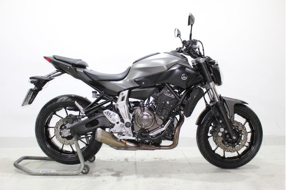 Yamaha Mt 07 Abs 2016 Cinza