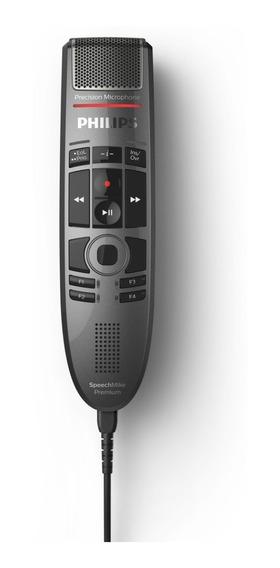 Speechmike Premium Usb - Lfh3700 Touch - Philips - Microfone