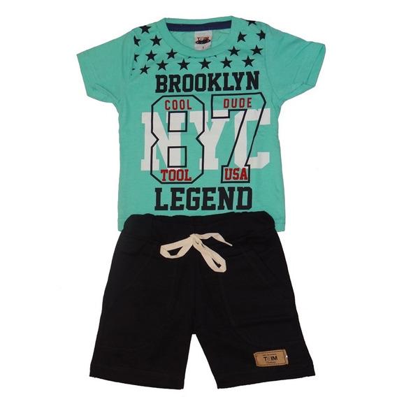 Roupa Infantil Menino Kit Com 8 Conjunto Infantil Masculino