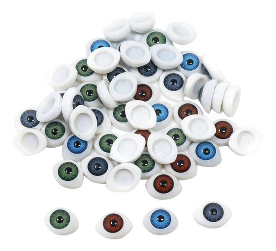 60 Unidades De Adornos De Ojos Hecho De Plástico Apto Para