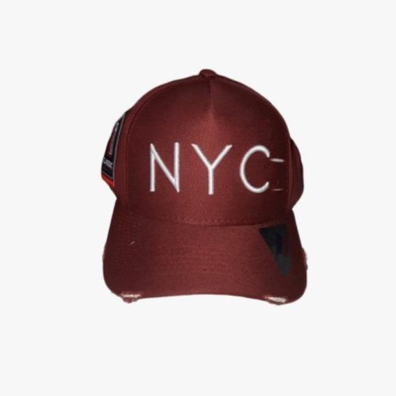 Boné Nyc Classic Hats Marrom