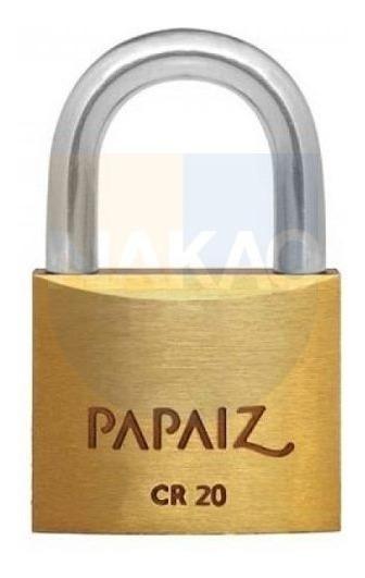 Cadeado De 20mm - Cr20 - Papaiz