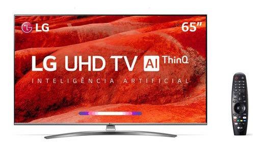 Smart Tv 4k LG 65 Webos 4.5 Upscaler 4k Hdr Ativo 65um7650ps