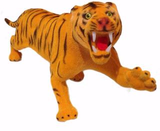 Tigre Animales Selva Felpa Safari Jungla Zoo Deco Juguete