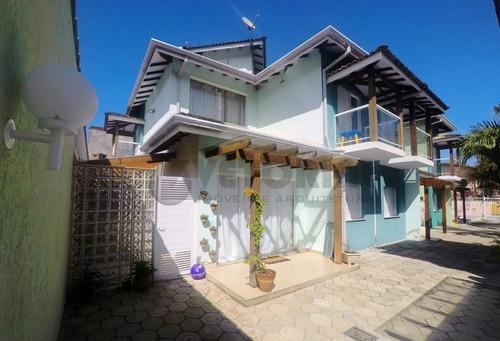 Sobrado Com 3 Dormitórios À Venda, 126 M² Por R$ 500.000,00 - Massaguaçu - Caraguatatuba/sp - So0090