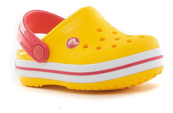 Suecos Crocband Kids Crocs Team Sport Tienda Oficial