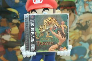 Tarzan Para Playstation 1 Ps1 Completo. Disney.