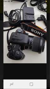 Máquina Fotográfica Sony Alpha 200 - Perfeito Estado De Uso