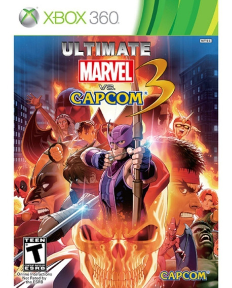 Ultimate Marvel Vs Capcom 3 Xbox 360 | Mídia Física Original