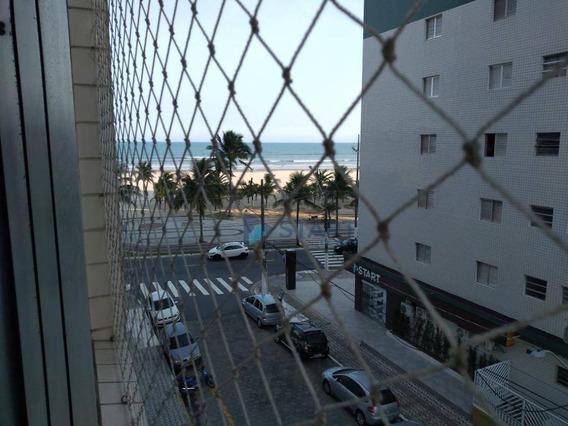 Excelente Kitnet Mobiliada Com 1 Dormitório Para Alugar, Por R$ 1.000/mês - Vila Guilhermina - Praia Grande/sp - Kn0324