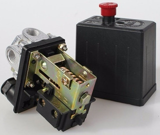 Pressostato Automático Compressor De Ar 80-120 Lbs C/ Botão