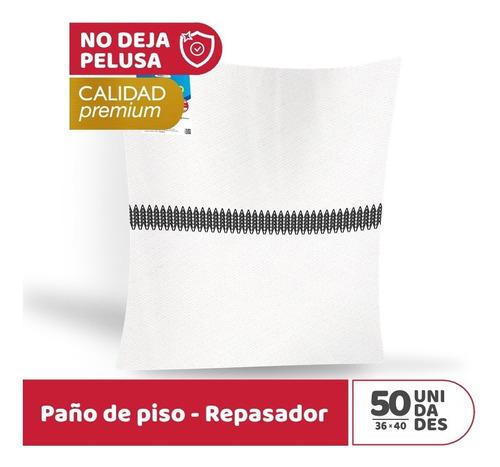 Imagen 1 de 2 de 50 Paños Multiuso - Repasador Y Trapo De Piso - Pañoplus