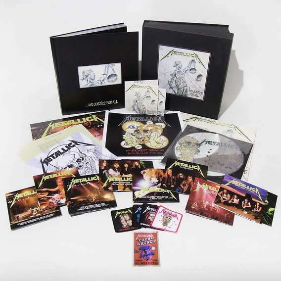 Metallica - And Justice For All Deluxe Ed Boxset [cd/lp/dvd]