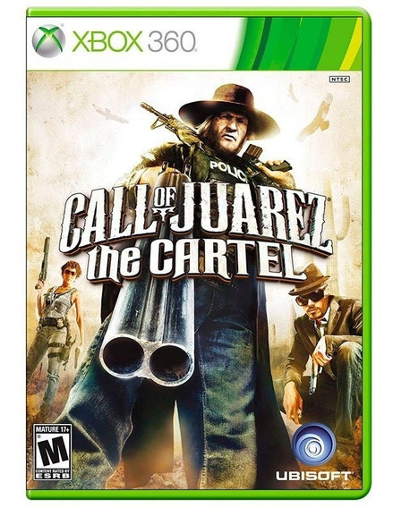 Call Of Juarez The Cartel Xbox 360 Original Mídia Física