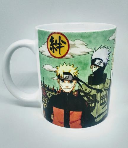 Caneca Em Porcelana Personalizada Anime Naruto Uzumaki