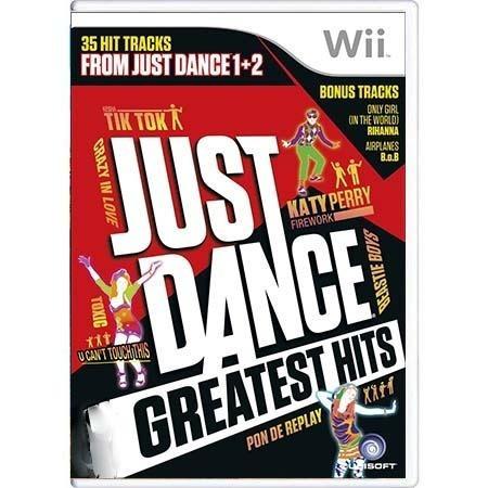 Just Dance Greatest Hits Wii Mídia Física Pronta Entrega