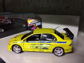 Mitsubishi Lancer Racing Champions 1:18 Velozes E Furiosos