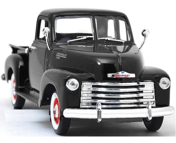 1953 Chevrolet 3100 Truck Negra Diecast Welly 1:24