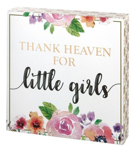 Lillian Rose Thank Heaven Para Niñas Cartel, Color Rosa