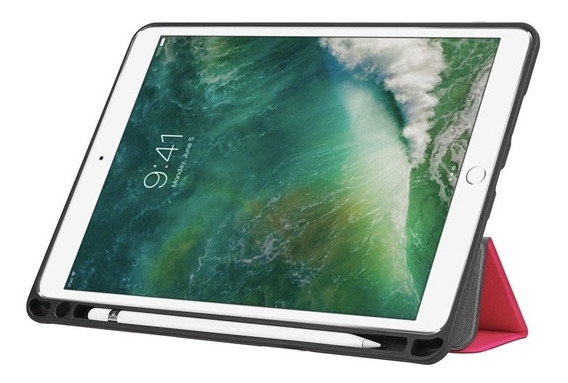 Capa Smart Case iPad Pro 10.5 Apple Suporte Pencil Caneta