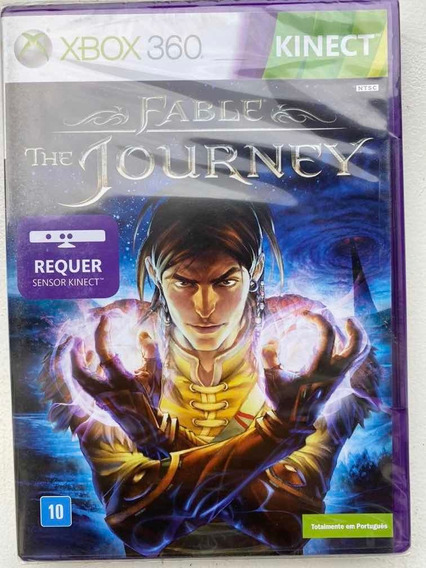 Jogo Fable The Journey Xbox360 Novo