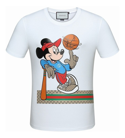 Camiseta Gucci Miky Basketball Pronta Entrega