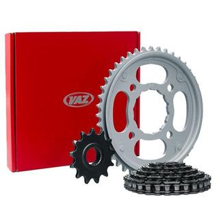 Kit Relação Para Motos Xtz 150 Crosser Aço 1045 Vaz - Y04577